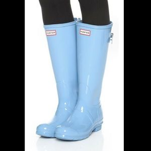 Tall Gloss Hunter Boots